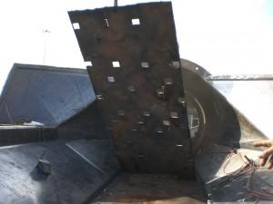 Debarking Drum Repair